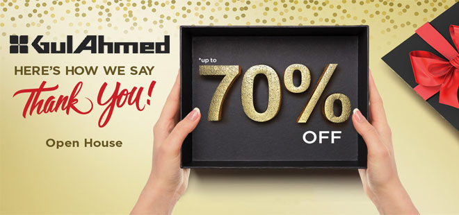 Gul Ahmed Sale Upto 70% Off