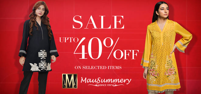 Mausummery Sale Upto 40% Off 2019