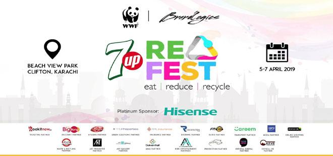 7UP ReFest Pakistan