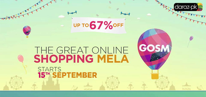 The Great Online Shopping Mela in Pakistan