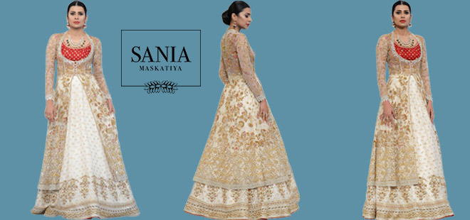 Saniamaskatiya Bridal Dress