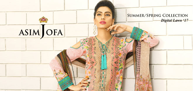 Asim Jofa Summer Spring Collection Lawn