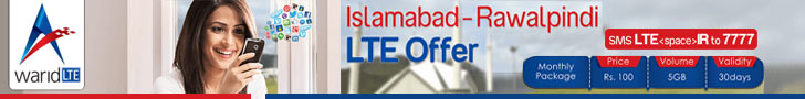 Islamabad-Rawalpindi LTE Offer