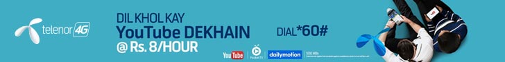 Telenor Youtube Offer