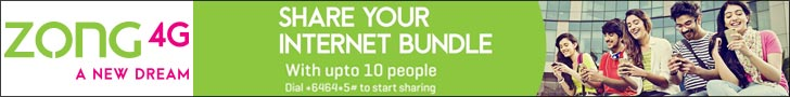 Zong Share Your Internet Bundle