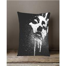Buy Bednshines Multicolour Silk Digital Printed Cushion Girl Face ... a7fc278bf
