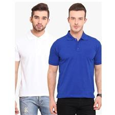 Pack of 2 - Multicolour PC Polo Tshirt For Men