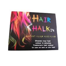 Pack of 6 - Temporary Hair Chalk - Multicolour