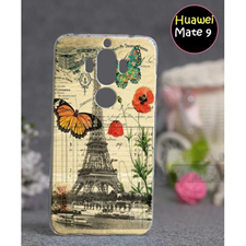 Huawei Mate 9 Eiffel Tower Style Mobile Cover Multi Color