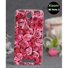 Xiaomi Mi Note 2 Floral Style 1 Mobile Cover Red