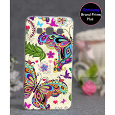 Butterfly Style Mobile Cover For Samsung Grand Prime Plus SA-1742 Multi Color