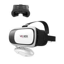 VR 20 Virtual Reality Glasses With Remote - White