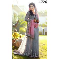f06ab184da Buy Waay Clothing Full Embroidery Designer 3pc Chiffon Suit With ...